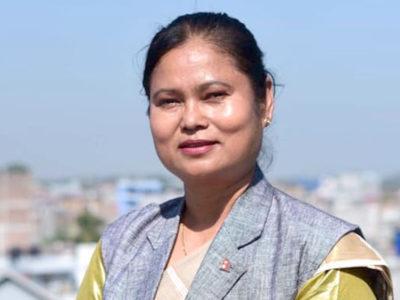 भगवती चौधरी पनि बनिन् सुनसरी जिल्लाको इन्चार्ज