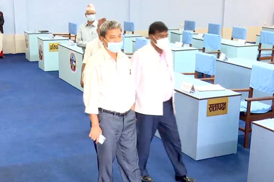 डिल्ली चौधरीद्वारा पार्टीको ह्वीपलाई बेवास्ता गर्दै दाङको पक्षमा मतदान