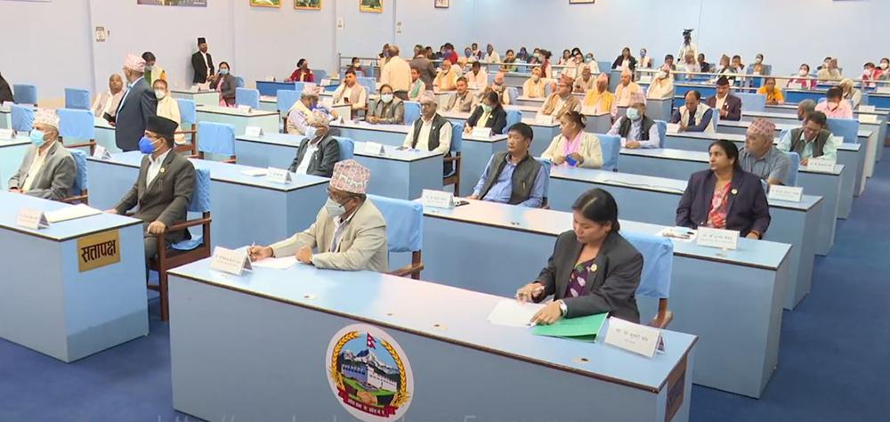 प्रदेश ५ को नाम लुम्बिनी र राजधानी दाङको देउखुरी बनाउने प्रस्ताव दुई तिहाइले पारित