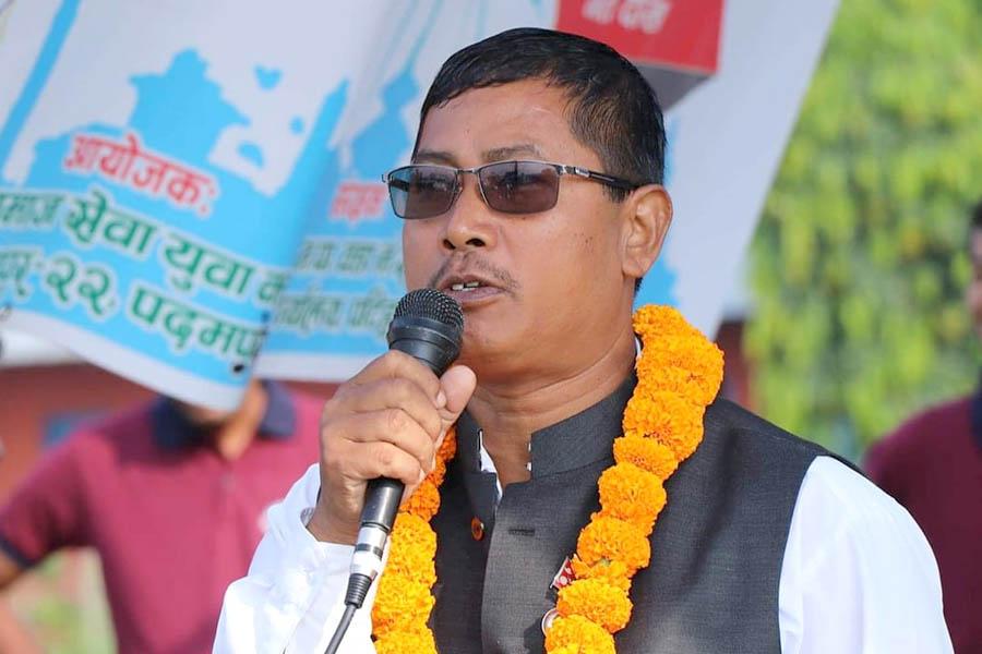 समाजसेवामै दुई बिघा बेचेका रामलाल महतो