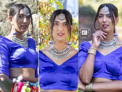 थारु लेहेँगामा सजिइन् मिस नेपाल प्रतिस्पर्धी रजनी चौधरी