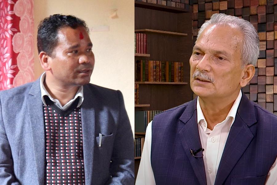 कैलारी गापाका प्रमुख 'अंकित' चौधरी भन्छन्- बाबुरामको समाजवाद काल्पनिक हो