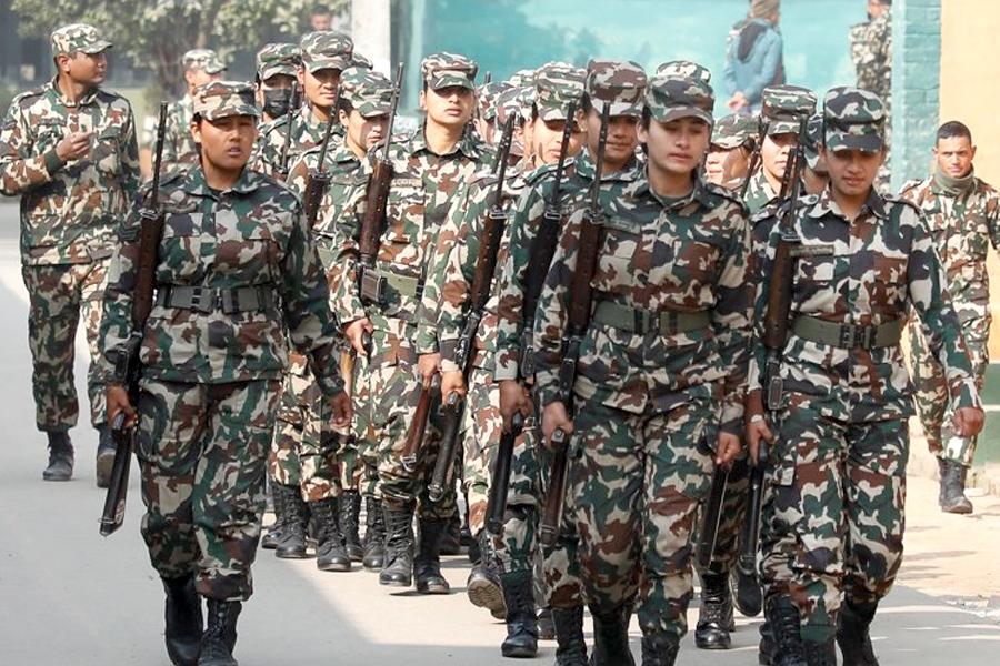 नेपाली सेना बन्ने अवसर, ४ हजार पदमा भर्ना खुल्यो [सूचनासहित]