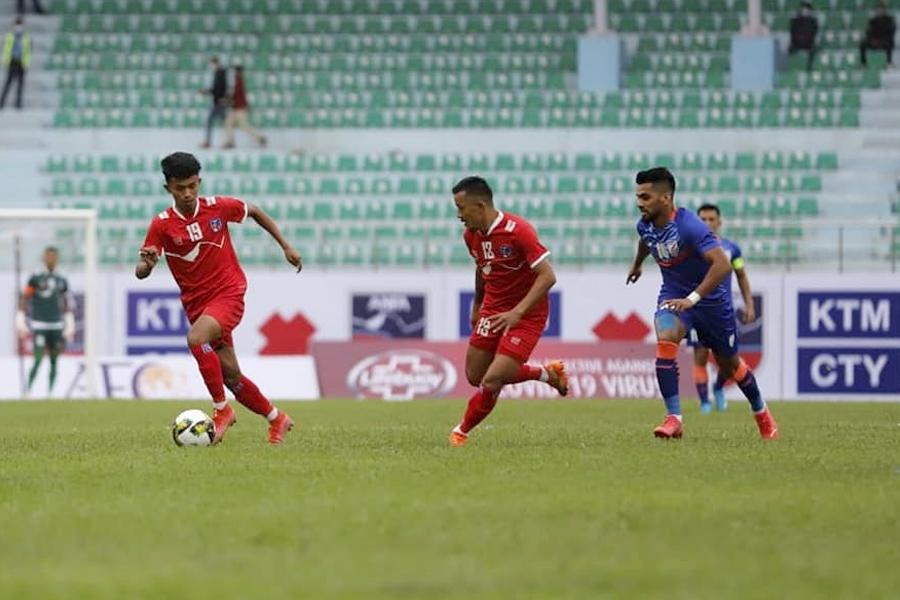 नेपाल-भारतको पहिलो मैत्रीपूर्ण खेल बराबरीमै सकियो