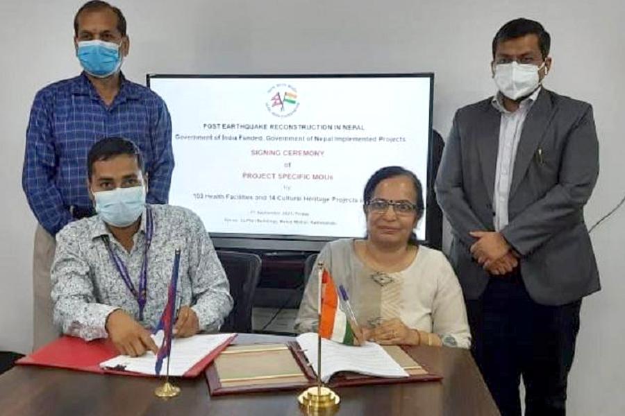 साँस्कृतिक सम्पदा पुनःनिर्माण गर्न भारतले नेपाललाई ४ अर्ब २० करोड दिने