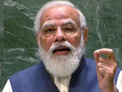 संयुक्त राष्ट्रसंघको महासभामा प्रधानमन्त्री मोदीले गरे भारतीय लोकतन्त्रको चर्चा