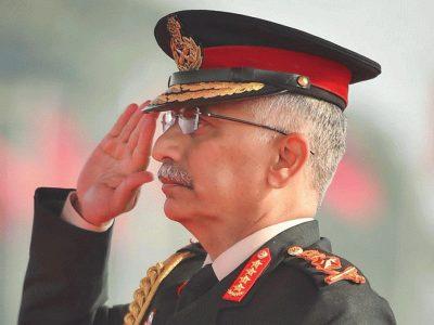 चिनियाँ सेनालाई भारतीय सेनाप्रमुखको चेतावनी